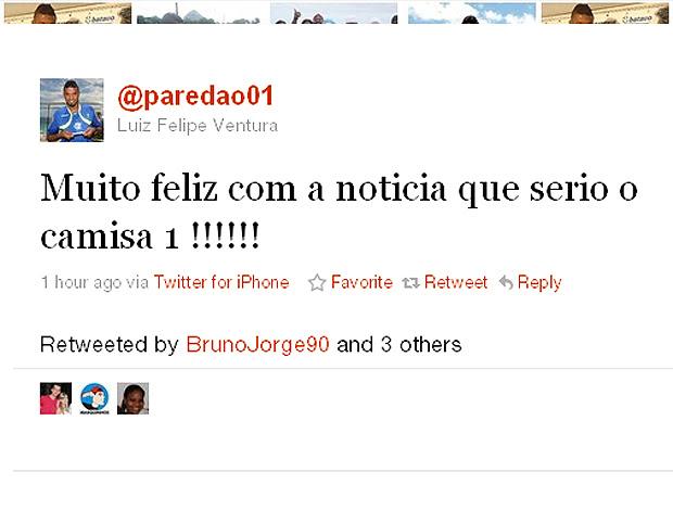 Felipe twitter camisa 1