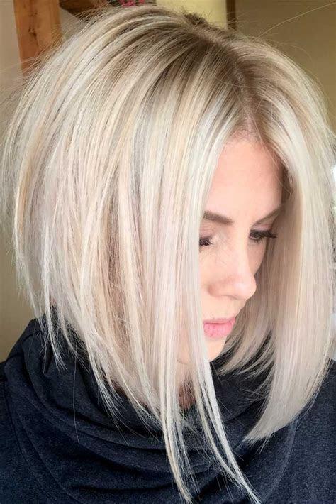 medium length hairstyles ideal  thick hair