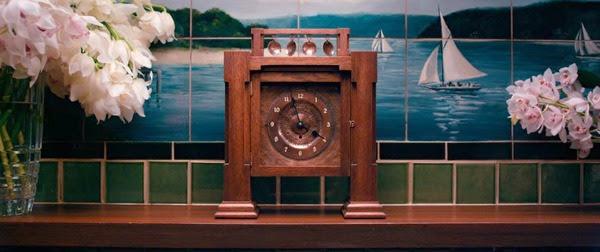 Wielki Gatsby - wnętrza, zegar