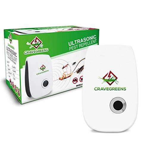 65% OFF! Cravegreens Pest Control Ultrasonic Repellent  Electronic Plug  In Repeller for Insects