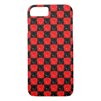 Checkered MTJ iPhone 7 Case