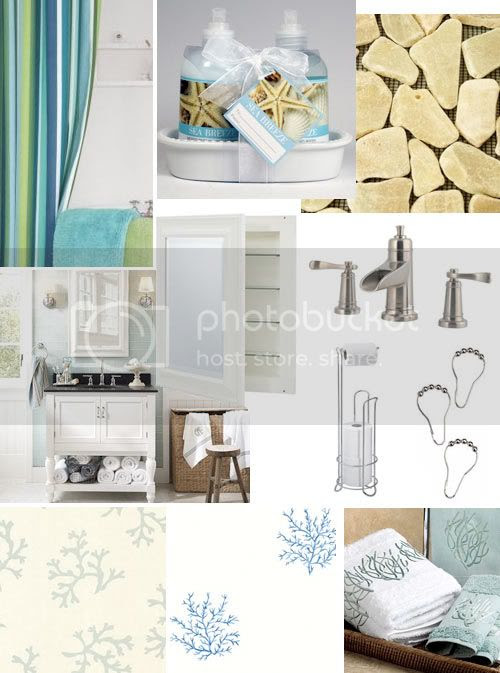 Beach House Bathroom | Skimbaco Lifestyle | online magazine