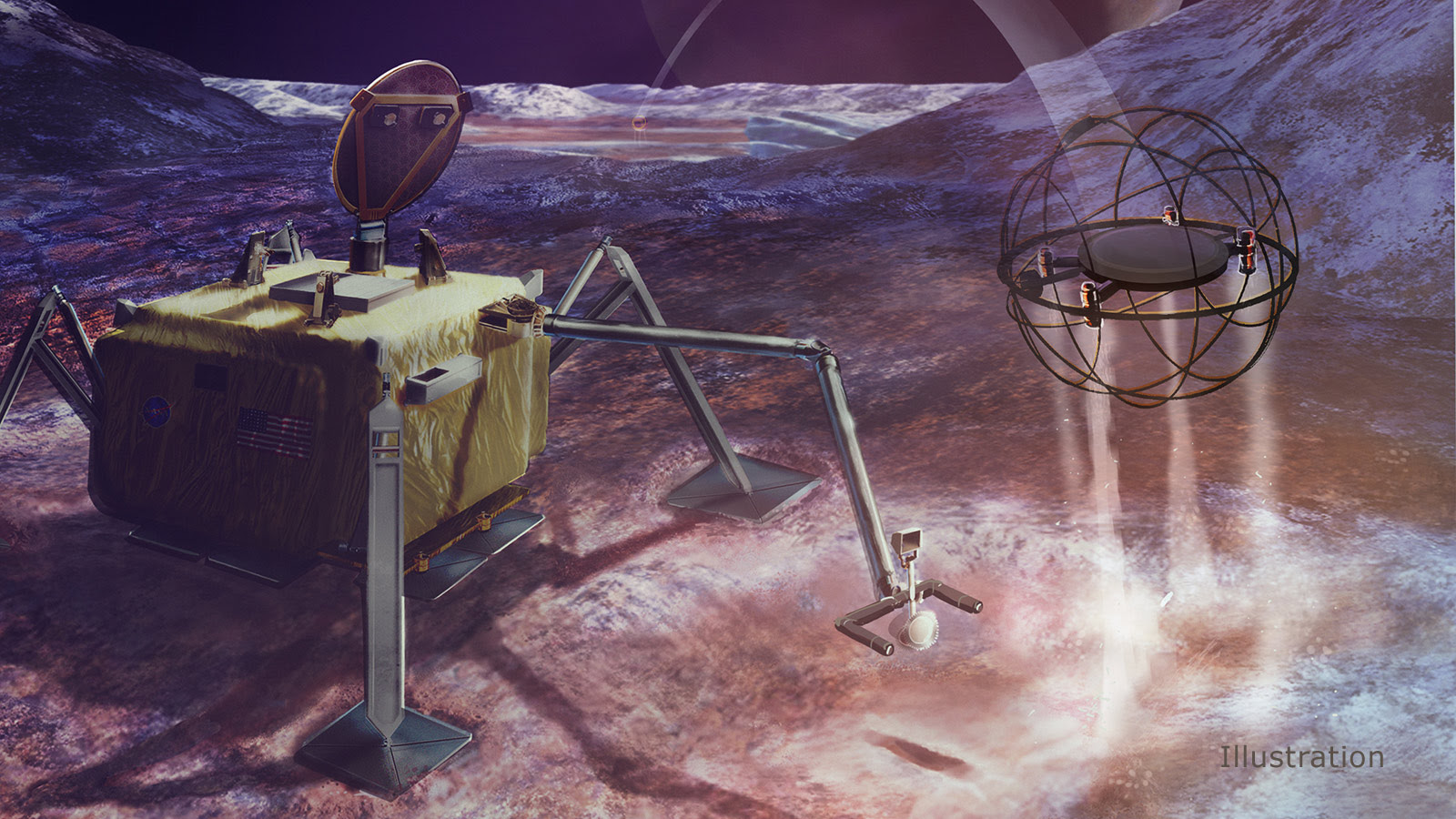 Steampunk space exploration? Icy moon robot could hop around on steam power. #rwanda #RwOT Reddit