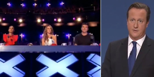 EXCLUSIVE: David Cameron Fails To Win Over Judges In Surprise 'Britain's Got Talent' Appearance