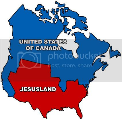 Image result for jesusland map