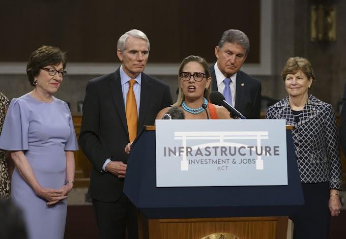 FOX BIZ NEWS: Bipartisan infrastructure legislation to add $256 billion to deficit, CBO says