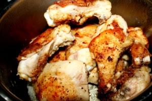 Piletina sa 40 glavice ljutike i 40 čena belog luka 002