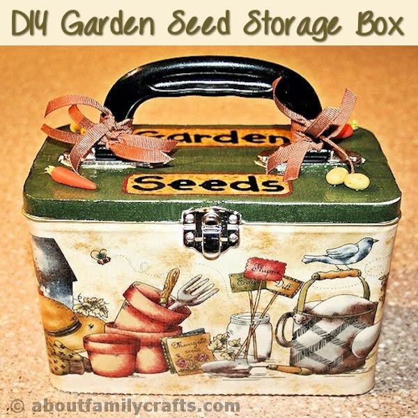 DIY Garden Seed Box