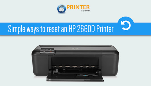 Simple ways to reset an HP 2660D Printer