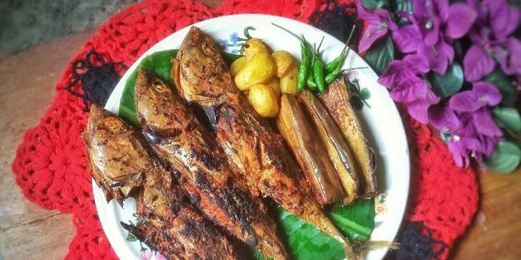 Resep Tongkol Bakar Bumbu Padang #SeafoodFestival Oleh Arvina Harahap