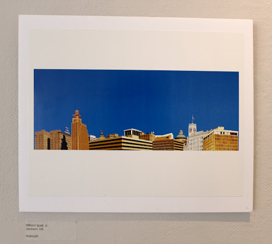 """City Skyline"" at the Arts Center"