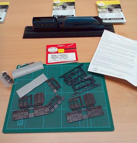 Kit parts