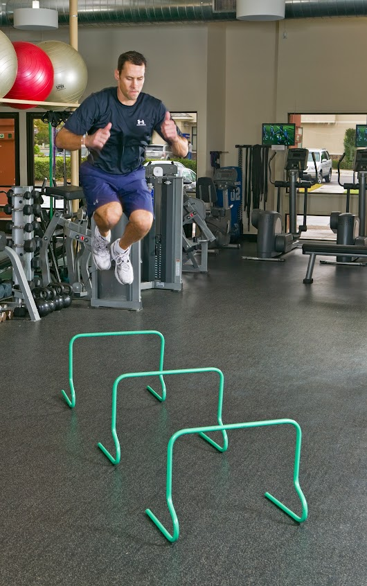 Linear Hurdle Jumps Performance Exercise - Sean Cochran Sports Performance Training