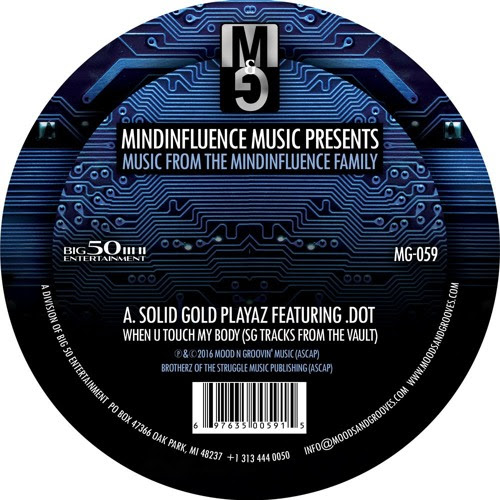 MG-059, MindInfluence Music Presents - Music from the MindInfluence Family by Moods & Grooves Records