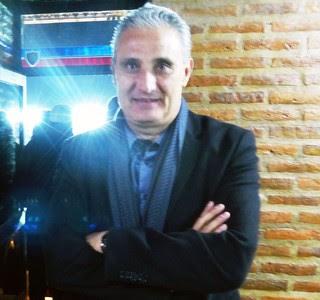 Tite entrevista final Libertadores (Foto: Daniel Mundim)