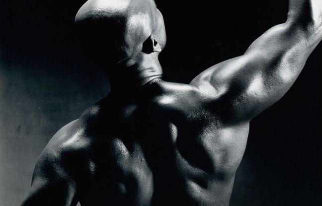 Illustration d'un body builder.