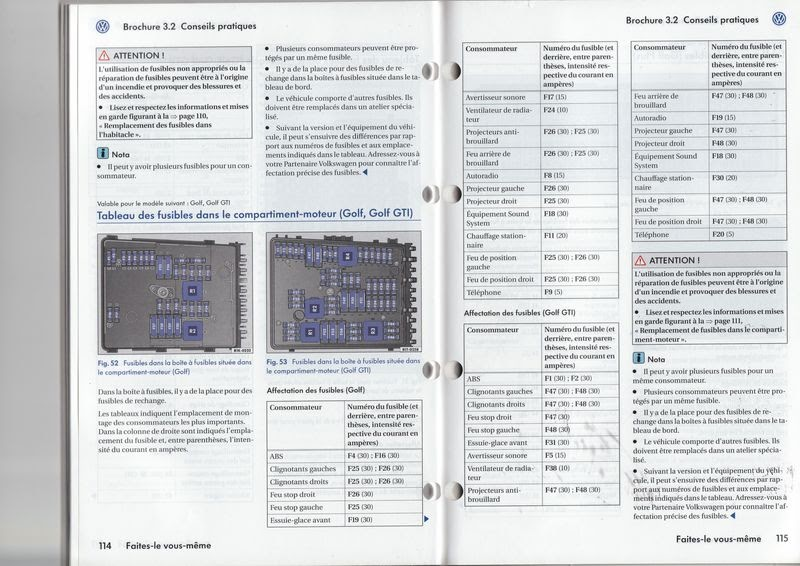 Fuse Box Diagram Vw Jetta 2007