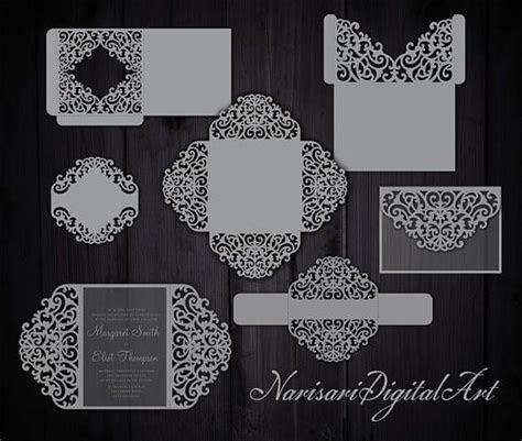 The 25  best Cricut wedding invitations ideas on Pinterest