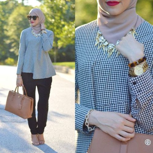 Neutral hijab outfit ideas | | Just Trendy Girls