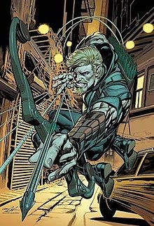 Comic Book Character Green Arrow