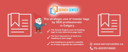 The strategic use of header tags by SEO professionals in Calgary