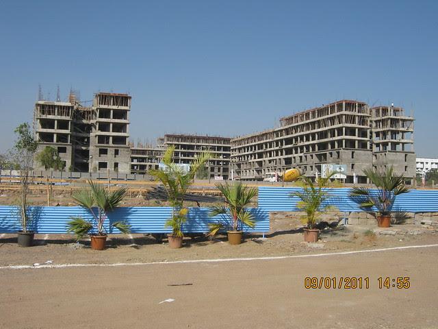 Umang Homes, Kolte-Patil Developers' budget housing project at Ivy Estate Wagholi on Nagar Road, Pune