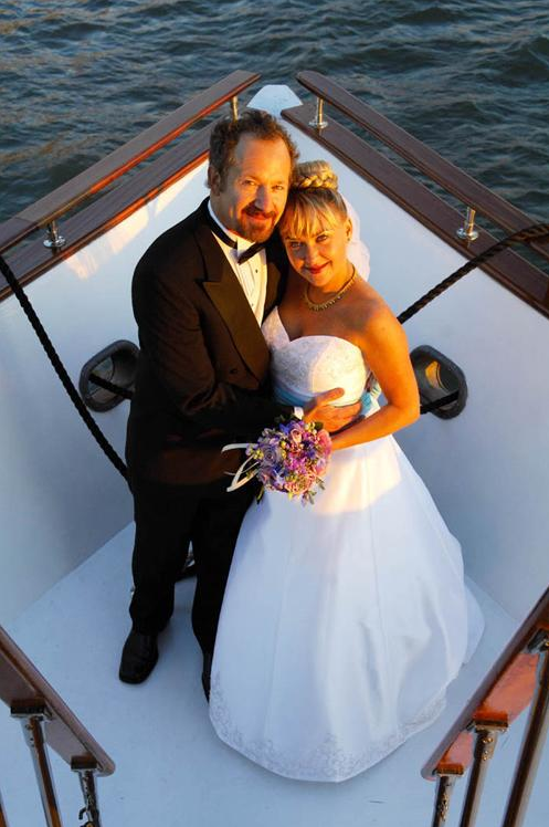 Just Engaged? Plan Your Nautical Wedding Aboard Motor Yacht Eastern Star | Eastern Star Yacht Charters