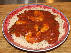 English: Shrimp Creole