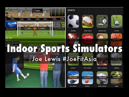 Indoor Sports Simulators - A Haiku Deck by Joe Lewis