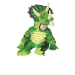 Underwraps Triceratops Green Dinosaur Infant Toddler Halloween Costume 26030 by fearless apparel