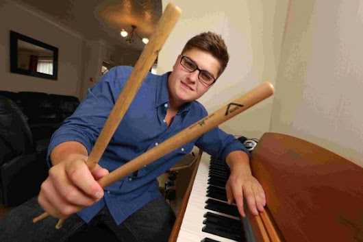 Young musician Luke hopes to go all the way at UK songwriting contest
