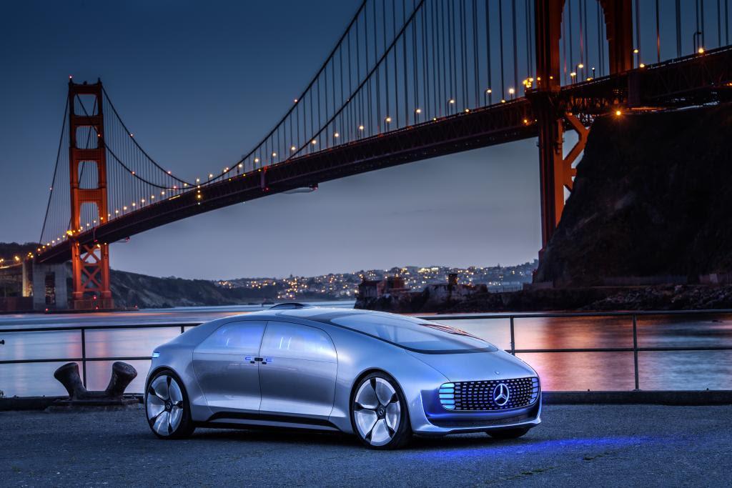 Mercedes Benz driverless sedan showcases the future of ...