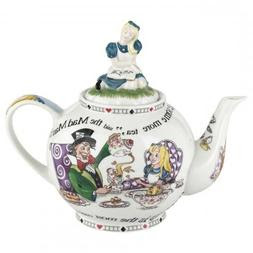 Cardew Design Alice In Wonderland 6 Cup Teapot 48 Ounce