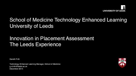 Innovation in placement assessment