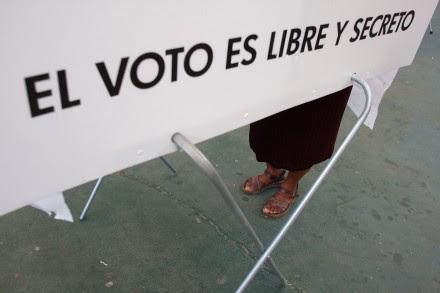 Oaxaca. Jornada electoral 2013. Foto: Hugo Cruz