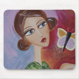 Flutteryby Mousemat mousepad