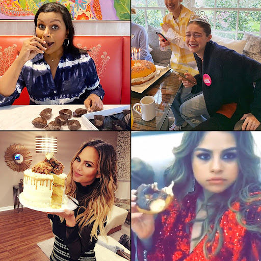 Avatar of Stars With a Sweet Tooth: Mindy Kaling, Gigi Hadid and More