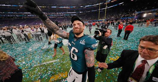 Super Bowl winner Chris Long donated his entire 2017 salary to charity