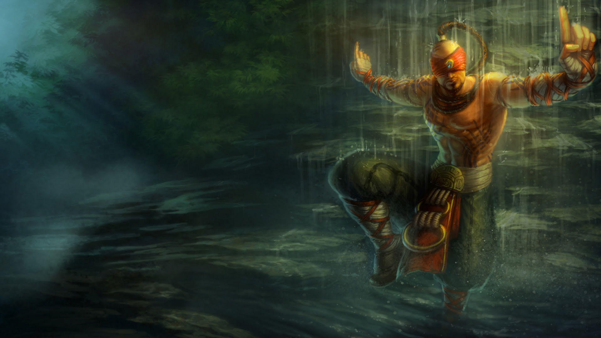 Lee Sin Wallpapers Leaguesplash