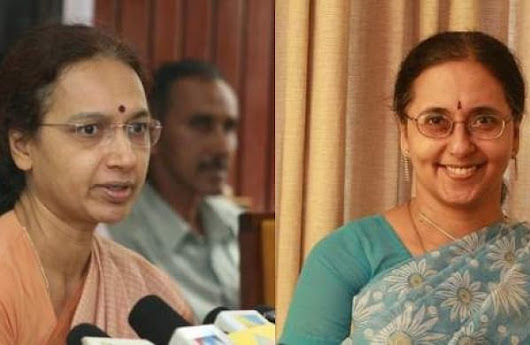 Cousins head Kerala, TN administration: Nalini Netto, Girija Vaidyanathan, chief secretaries of Kerala and TN, are cousins