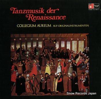 COLLEGIUM AUREUM tanzmusik der renaissance