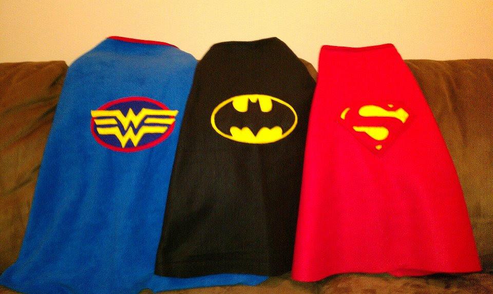 Capas de Super Héroes.