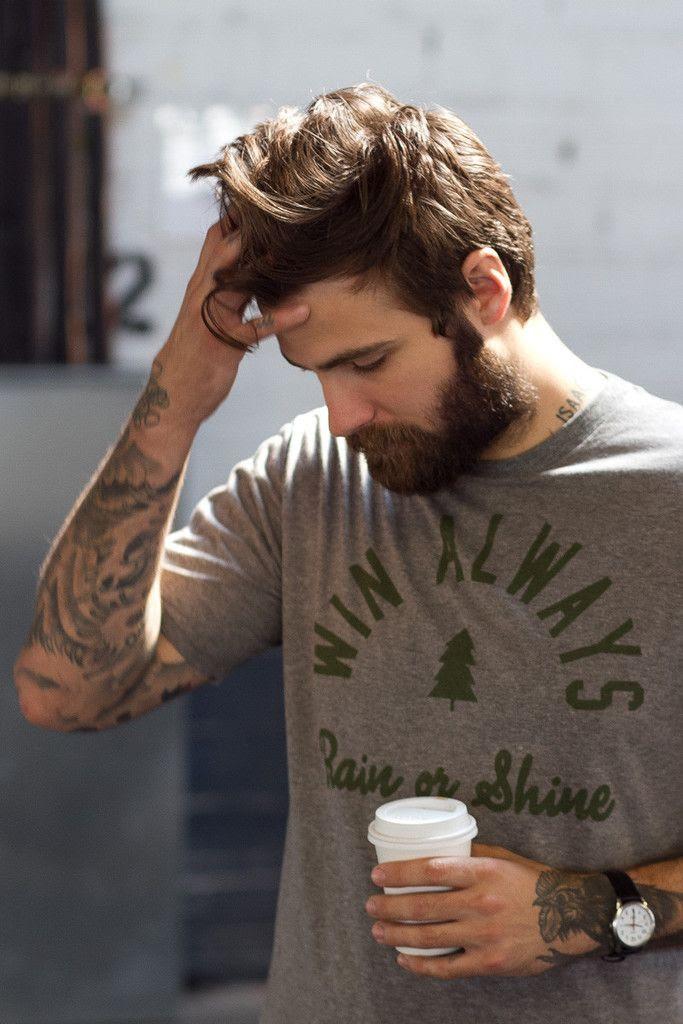 Beard adoration.
