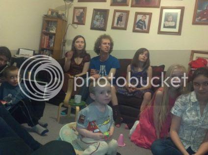 Fyfe Family Children New Years 2012