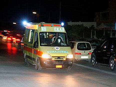 Image result for ασθενοφόρο βραδυ
