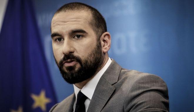 O κυβερνητικός εκπρόσωπος και υπουργός Επικρατείας, Δημήτρης Τζανακόπουλος