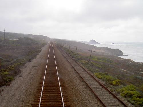 Train tracks - north of Santa Barbara
