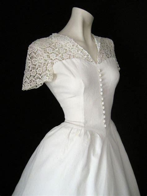 1940s Wedding Dress   My Style   Pinterest   Vintage gowns