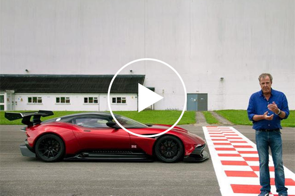 Here S Jeremy Clarkson S Full Review Of The Insane Aston Martin Vulcan Carbuzz