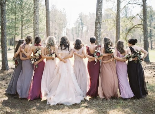 8 Fall/Winter Colors for Bridesmaid Dresses